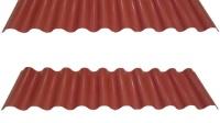 pvc wave roof tile