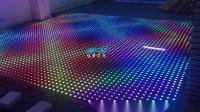 酒吧灯光--感应数码LED地砖灯