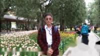 北京中山公园《百花丛中最鲜艳》 2019年4月19日。