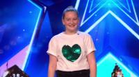 2019BGT英国达人秀10岁萝莉Giorgia惊人嗓音震撼拿下Aleshas金坷垃