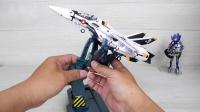 女武神工廠  超時空要塞 骷髏隊長機  VF-1S  胡服騎射的玩具開箱系列