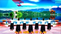 龙门红叶广场舞-初恋的地方(中三步)-编舞-圆月如歌