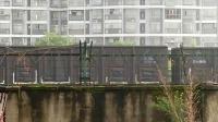 HXD1C0211-货列通过新余市人民路立交桥
