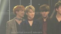 BTS @AAA best artist award 1611