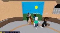 【小熙&屌德斯】roblox电梯模拟器 和爆笑哥哥加入女团