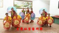 重庆枫叶艺术团表演妹娃要过河