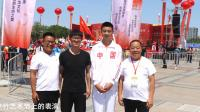 空竹小艺术家杨君帅在2019中国保定国际空竹艺术节表演