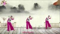阳光美梅广场舞《醉千年》原创古典舞-正面