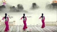 阳光美梅原创广场舞【醉千年】古典舞-背面