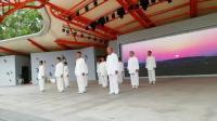 太极拳展演杨氏16式,方洲太极队。