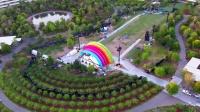 Apple Park最新航拍视频欣赏,有彩虹出现- May 2019-_超清