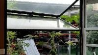 上折叠推拉提升窗 随意悬停 隐藏式配件 美观大方 铝合金玻璃滑