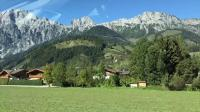 Driving through the Bavarian Alps (4K)