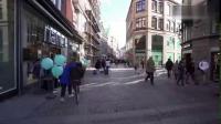 走在安徒生的故乡丹麦首都哥本哈根