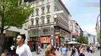 走在奥地利首都维也纳街头