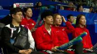 2019苏迪曼杯 韩国VS中国香港女双对决