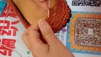 手工编织精品屋一脚蹬新版凉鞋视频教程