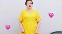 160斤小姐姐穿搭分享,胖胖的女孩子也可以穿裙子哟~