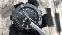 陶瓷黑深海,品鉴欧米茄海洋宇宙600米两地时腕表