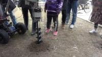 小小机器人-无人挖坑机器人