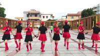 台山市广海镇开心舞队《好兄弟姐妹》双人水兵舞