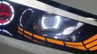 全新胜达专用LED日行灯转向灯示宽灯