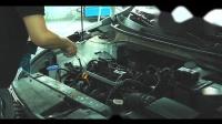 谷柏特洗车店加盟--发动机舱纳米清洗效果展示