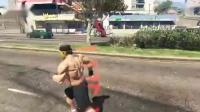 【DE JuN】真北斗爆奶拳 VS 無敵浩克 GTA 5
