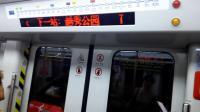 广州地铁2号线(纪念堂→越秀公园)运行与报站