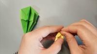 【香香手工】折纸仙人球盆栽(上)