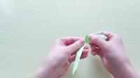 【香香手工】折纸小清新树叶