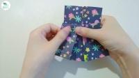 【香香手工】折纸小裙子