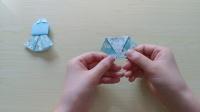 【香香手工】折纸小裙子套装