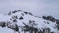 楚格峰和艾布湖风光