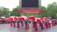 赫山区老年大学队表演广场舞《我的祖国》 荣获第一名
