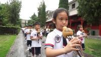 温县第二实验小学亲子研学旅行暨陈家沟祖祠千人葫芦丝展演航拍