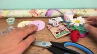 手工制作 DIY超级简单自制五件 生活小用品 唇膏 3D立体贺卡 毛线编织钥匙圈