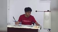 银川老年大王成老师绘画教学:丝瓜画法(写意花鸟班卢晓冬录制,三楼组编)