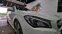 漳州靓点-奔驰CLA200,第四次选择靓点叠加氟素超级镀晶,完美收工!