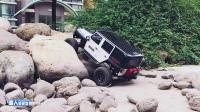 KM4门桥攀爬公路胎和全地形轮胎性能对比《超人聊模型》第八十二期