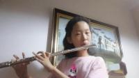 长笛+A大调音阶 琶音与音程和《渔舟唱晚》深实验