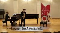 Josip Nochta - RYO NAKAJIMA - Rhapsody for Saxophone by Andre Waignein