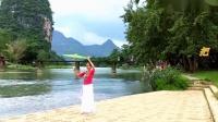乐美广场舞《美丽的漓江河》原创编舞正面演示