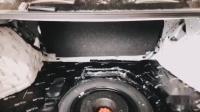 西安车乐汇汽车音响 丰田雷凌改装意大利史泰格ME650C主动三分频音响