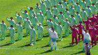 大同新体育场启动仪式【八段锦,健身球】表演