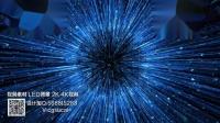 s512 2K画质超唯美科技蓝色光效光线光束粒子发射发射视频素材青花瓷 中国风水墨 旗袍秀