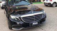 奔驰E300L装贴XPEL漆面保护膜-洛阳XPEL改装力量出品