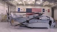 西科斯基CH-53K种马王重型直升机展示折叠旋翼