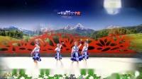 兰州蝶恋舞蹈队:蒙古舞-月夜4人版,编舞:艺莞儿老师,制作:蝶恋 原创附正背面教学口令分解动作演示-跳一曲广场舞