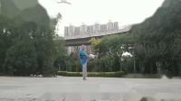 徐彪老师试飞为台湾来风先生制作的小红鹰